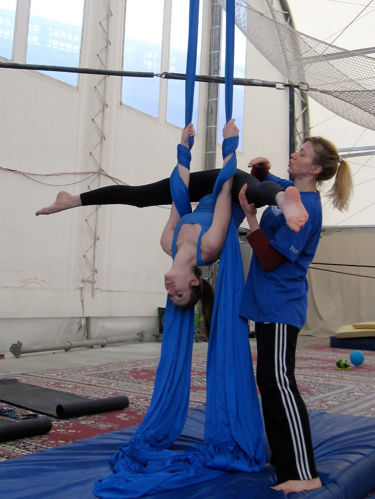 Aerial Silk Artist as an Aerial Silk Artist