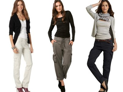 Comfortable women cargo pants