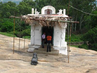 Ganesh temple on Nandihills