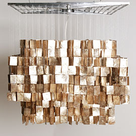another beauty from neiman marcus for a whopping i get tired of things way to quickly to spend that much on a light - Capiz Shell Chandelier