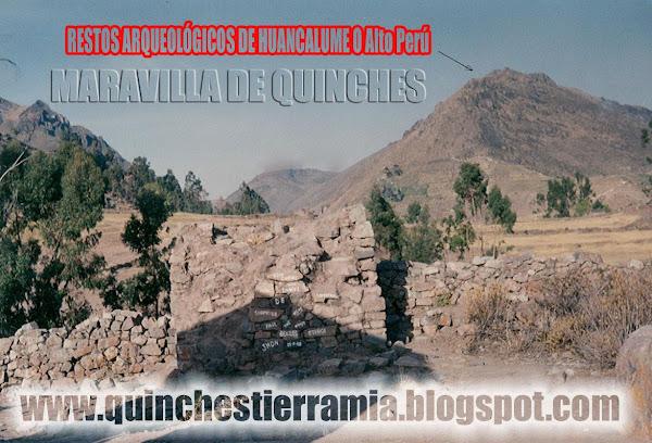 MARAVILLAS DE QUINCHES