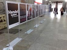 Wystawa na dworcu PKP w Poznaniu