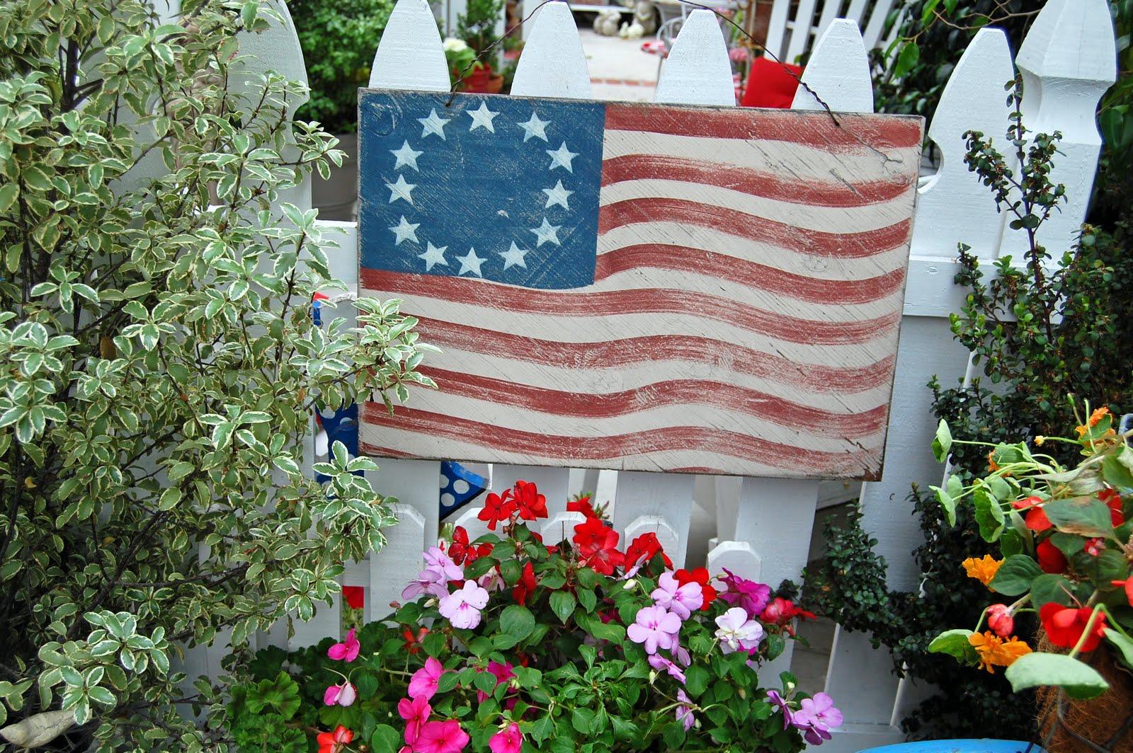 Fourth Of July In My Garden Great Beautiful Garden