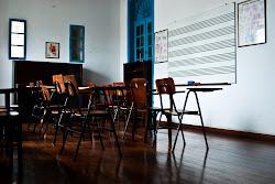 Sala de Aula  de  Canto - detalhe