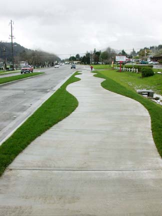 /Temporary floating sidewalks/ - /sidewalks of black ...