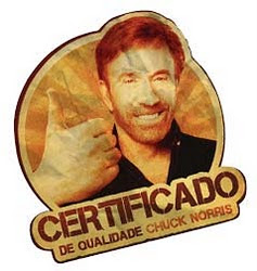 Certificado pelo Mestre