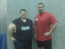 Big John my Trainer and myself.