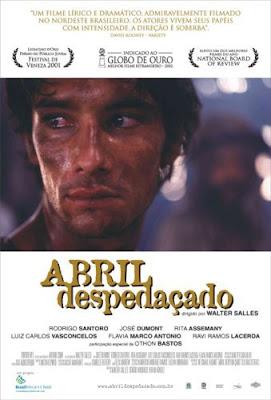 Filme Poster Abril Despedaçado DVDRip RMVB Nacional