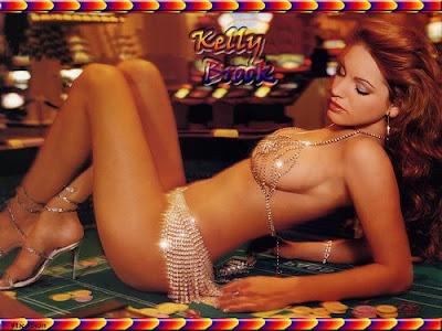 Attractive Sexy kelly Brook Bikini