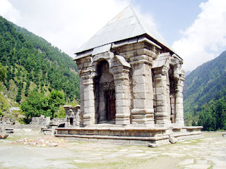 Jammu And Kashmir: Historical Temple Nara Nag in Kashmir