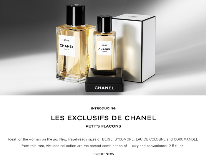 perfume shrine chanel les exclusifs size small for fit. Black Bedroom Furniture Sets. Home Design Ideas