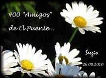 """Selo 400 """"Amigos"""" de El Puente"""