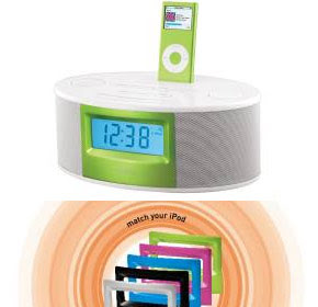 A Multi-Color Speaker For Your Ipod