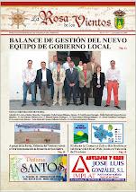 """Periódico local """"La Rosa de los Vientos"""""""
