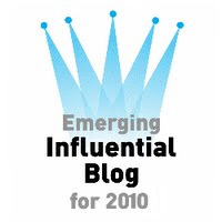 Emerging Influential Blog for 2010