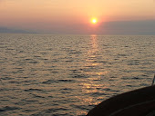 Sunset over Saronic Gulf