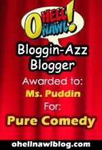 Bloggin' Ass Blogger Award