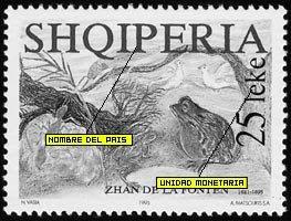 Albania, ¿cómo identificar sus sellos?