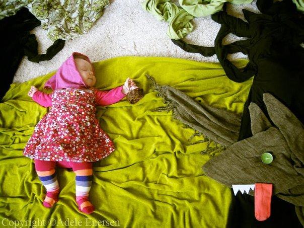 تبدع بتصوير ابنتها