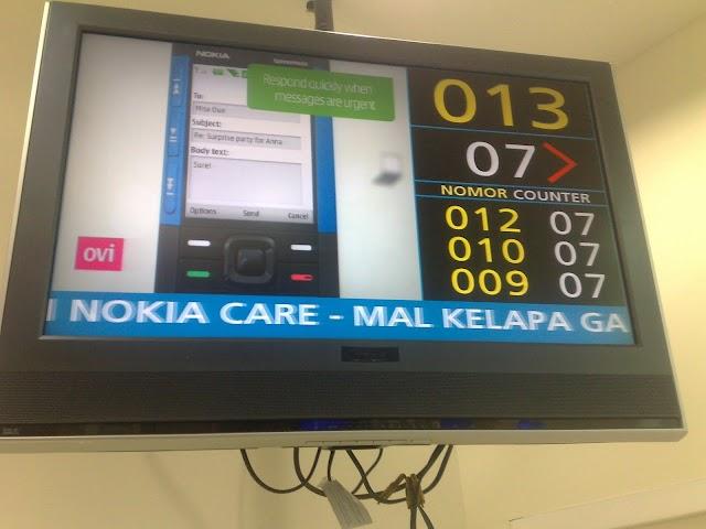 Selamat kepada Nokia Care Mal Kelapa Gading Jakarta
