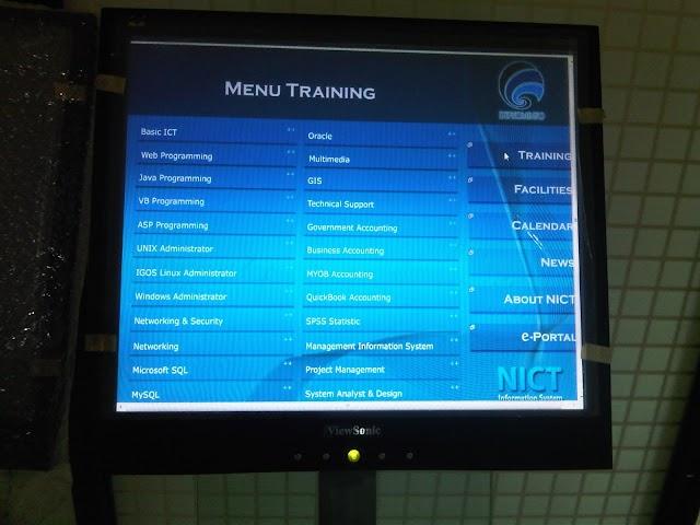 Aplikasi untuk Kiosk System