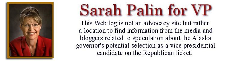 Sarah Palin | Republican Vice Presidental Candidate | McCain VP | Alaska Governor