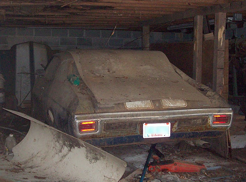 junkyard life classic cars muscle cars barn finds hot rods and part news 1970 chevelle ss. Black Bedroom Furniture Sets. Home Design Ideas