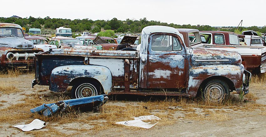 Junkyard Desert Delight 1951 Ford F100 More Classic Pickup Trucks