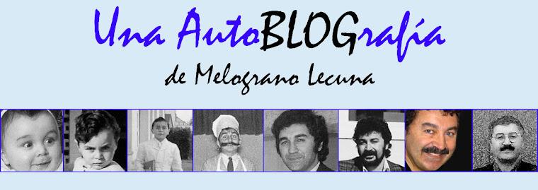 AUTOBLOGRAFÍA de Luis Alberto Lecuna