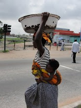 Anne Marie in Ghana