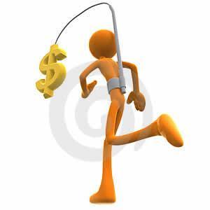 correndo atrás dinheiro salário