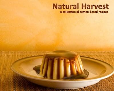 natural harvest livro de receitas com esperma sêmen