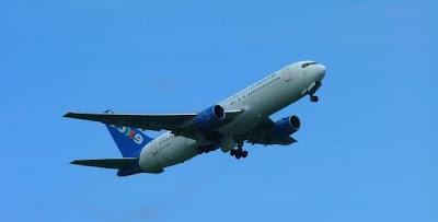 avião viagem exterior