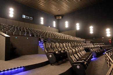 por dentro da sala cinema IMAX Curitiba