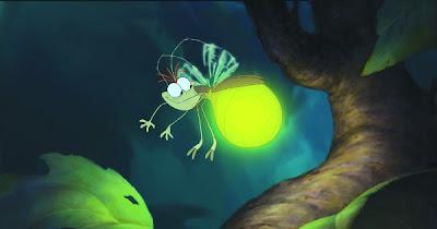filme a princesa e o sapo ray vagalume