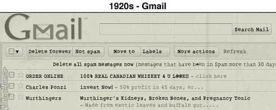 sites vintage gmail