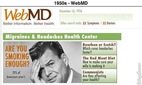 sites vintage webmd
