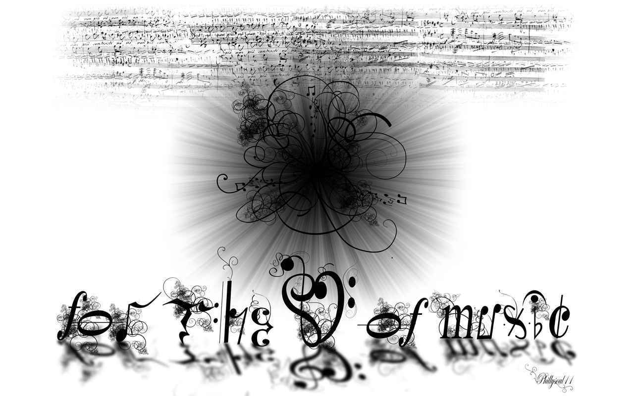 Love music music makes me really without music i think i would crank