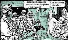 Terroristas extranjeros....