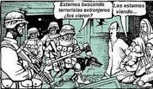 Terroristas extranjeros....