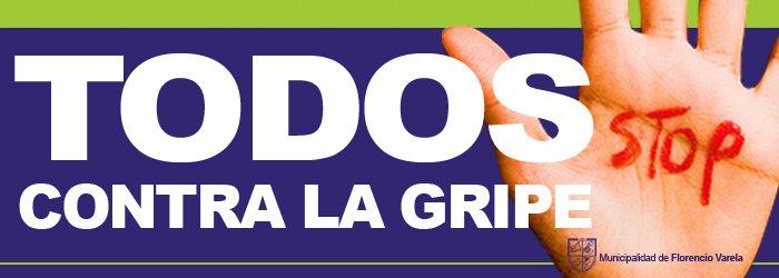 TODOS CONTRA  LA GRIPE