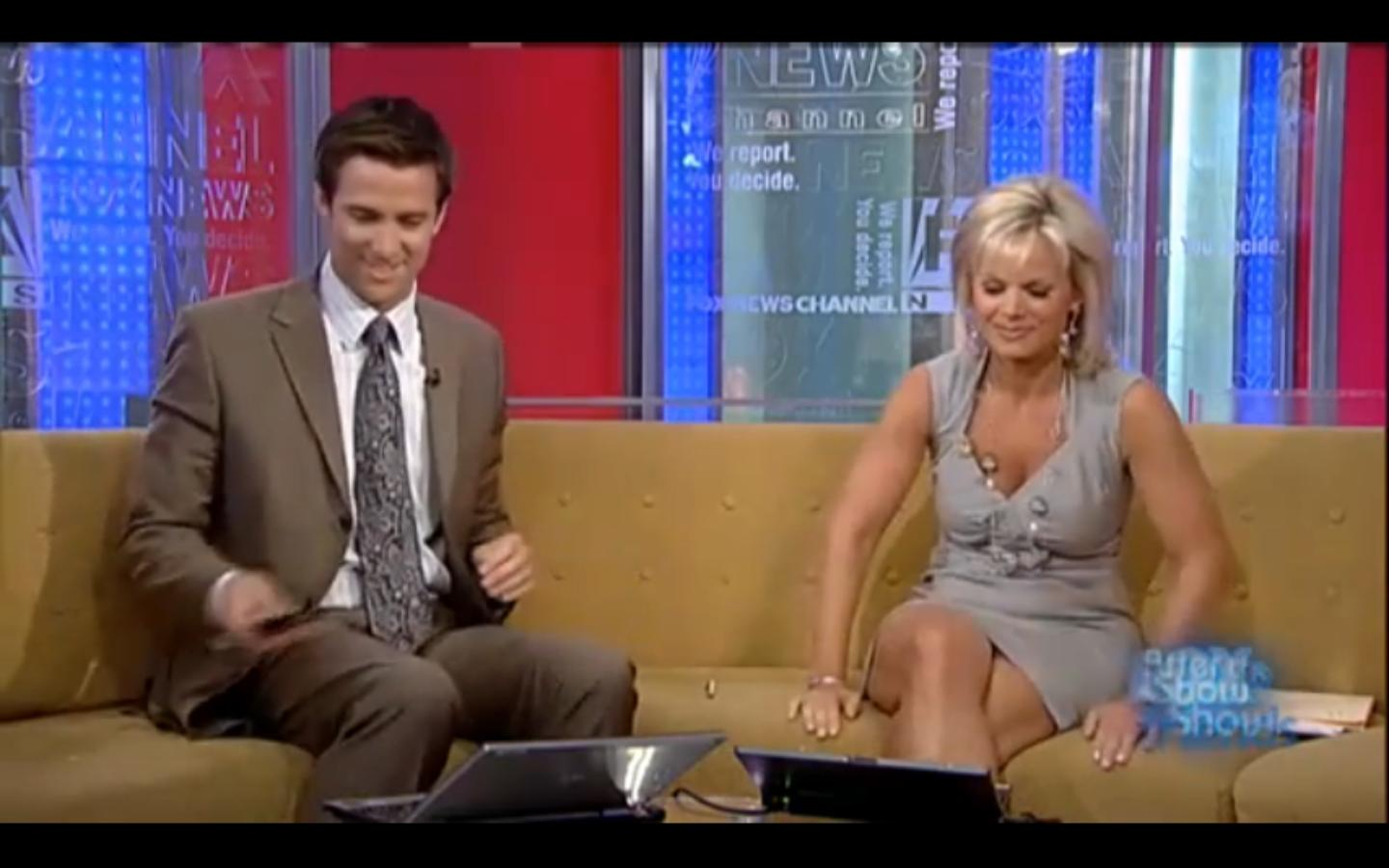 Have Gretchen carlson fox news upskirt pic think it's