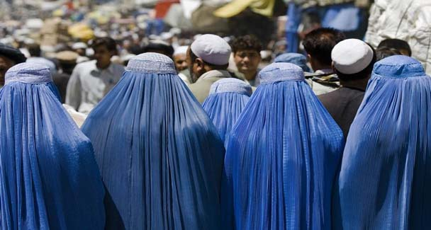 Burqa losing favour