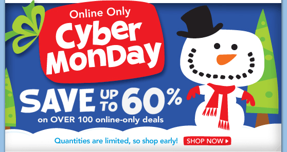 Cyber monday deals international shipping