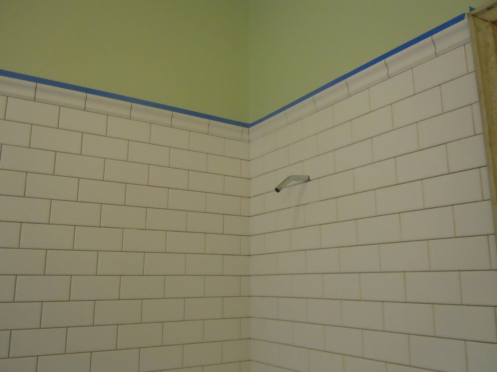 Forest hall grouting bathroom wall tiles