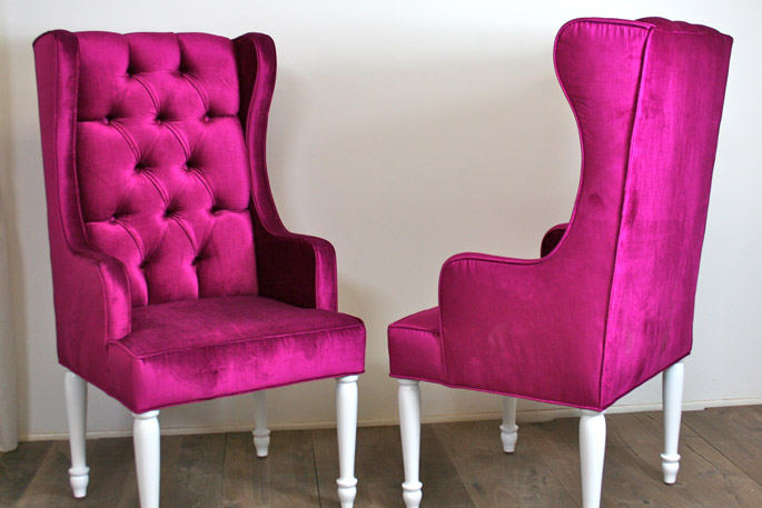 Caroline Maguire Designs Eclectic Chairs
