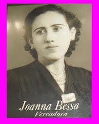 JOANA CACILDA BESSA - PRIMEIRA VEREADORA DO BRASIL