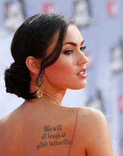 ...yes we will, and while we're at it we will laugh at you too. Megan Fox ...