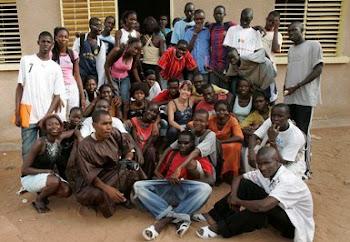 Alumnado del Liceo Senegalés