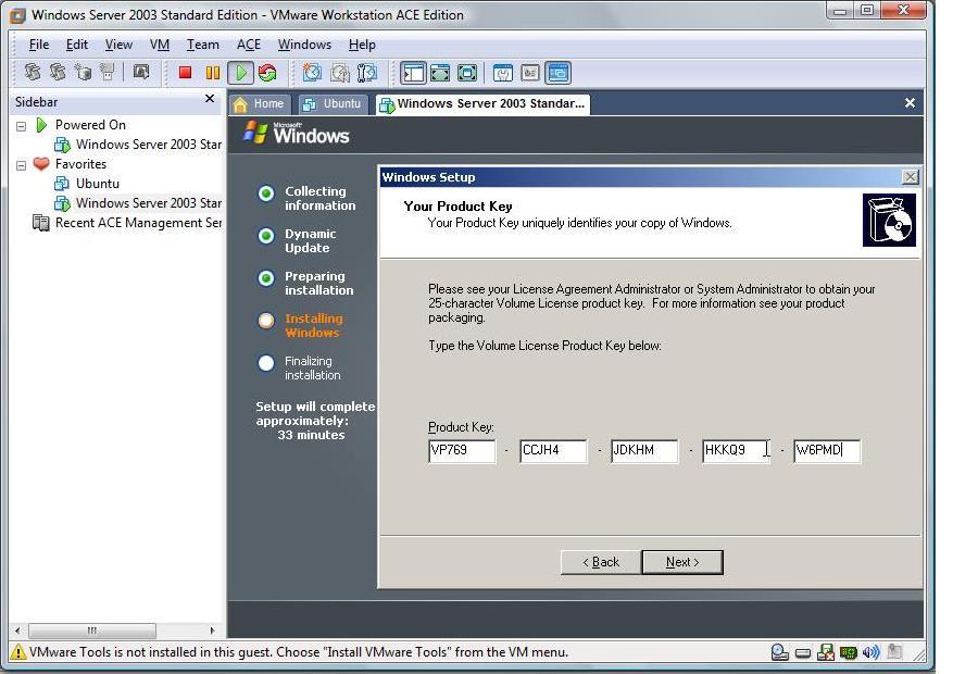 crack windows server 2003